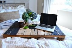 pallet bed tray Funky Junk Interiors