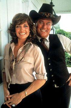 Sue Ellen & JR.