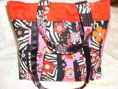 Nice deal: Great pink zebra flowers print purse, handbag at $30 http://bizspeaking.com/s/91Bh