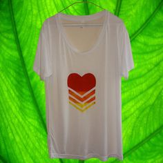 Brand New Slouchy Heart Tee by UrbanLeafClothing on Etsy, $25.00