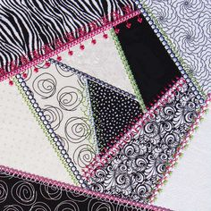 Molly Mine Designs: Simply crazy Quilt