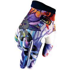 2016 100% iTrack Motocross Gloves - Paradise Blue