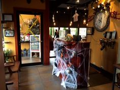 It's Fall in Ciao Bella! #happyhalloween #October #Fall #Cautiontape