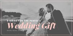 Great wedding gift ideas on this blog.  Very unique wedding gifts and personalised wedding gift ideas