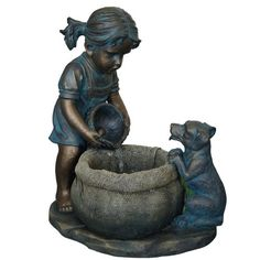 Outdoor Fountain of Girl w/Puppy - Great Water Feature fo... https://www.amazon.com/dp/B00CE6O1X0/ref=cm_sw_r_pi_dp_x_QdieybA4HB5XS