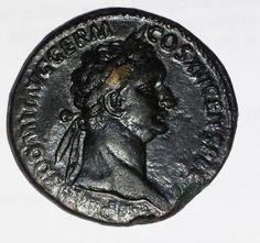 ROMANA 81/96 DOMITIANUS rara SOB