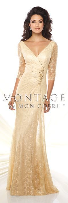 Montage by Mon Cheri Spring 2016 - Style No. 116932 #eveninggowns:
