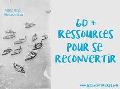 60 ressources pour se reconvertir