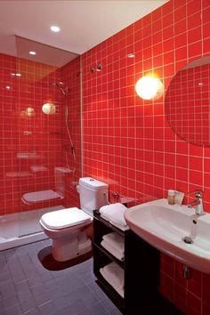 Perfekt 40 Herausragende Schwarze Und Rot Badezimmer Foto Design   Mehr Auf Unserer  Website   Wenn Sie