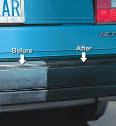 Have your bumper and trim glowing like new!