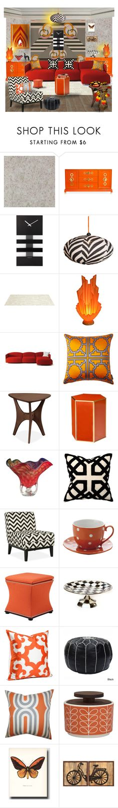 """Retro"" by amara-m-hafeez ❤ liked on Polyvore featuring interior, interiors, interior design, home, home decor, interior decorating, Jonathan Adler, NeXtime, Somerset Bay and Universal Lighting and Decor"