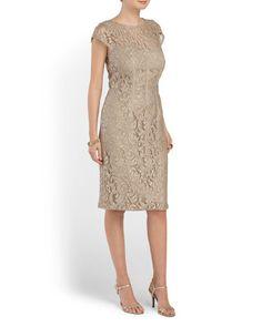 image of Short Foil Lace Dress