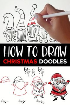 Christmas Activities, Christmas Crafts For Kids, Christmas Art, Holiday Crafts, Christmas Decorations, Christmas Doodles, Christmas Drawing, Christmas Paintings, Arte Country