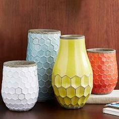 Hive Vases- West Elm UK