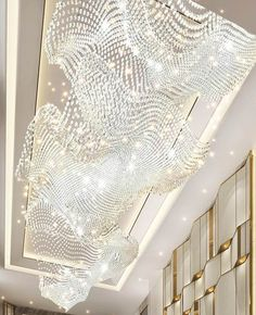 Arch Light, Light Art, Lamp Light, Ballroom Design, Hall Lamps, Luxury Chandelier, Chandeliers, Restaurant Lighting, Showroom Design