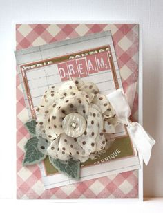 Dream Shabby Chic Card