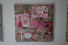 Memo board for a girls room
