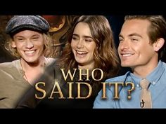 The Mortal Instruments Cast: Who Said It? Jamie Campbell Bower, Lily Col...