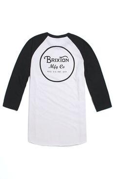 Brixton Wheeler 3/4 Sleeve Knit T-Shirt #pacsun