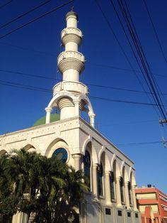 Mezquita de Maicao, Guajira Cn Tower, Four Square, Building, Travel, Places, Viajes, Buildings, Destinations, Traveling
