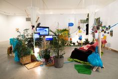 dineo seshee bopape - Google Search Artistic Installation, Exhibition Display, Design Show, Showroom, South Africa, Artworks, Third, Studios, November