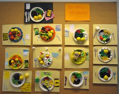 Junior Master Chefs from grade created healthy school lunches. Fall Art Projects, Science Projects, Projects To Try, Craft Activities For Kids, Crafts For Kids, Ratatouille, Healthy School Lunches, Master Chef, Health Education