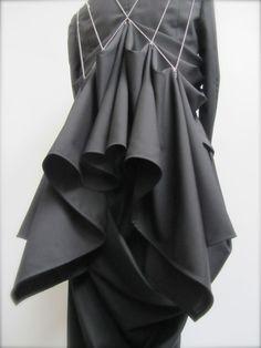 Kei Kagami SS15 dress a