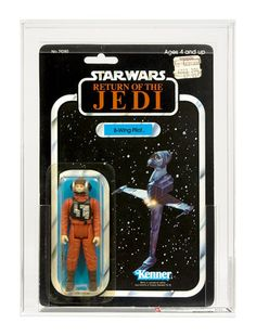 New Lower Price Complete with Grade Report !! £59.99 !! Vintage ROTJ B-Wing Pilot 77 Back-A AFA 80-Y NM (C80 B85 F80) #15800993 !!