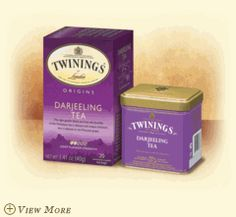 DARJEELING  The light golden black tea from the foothills of the Himalayas is considered the champagne of all teas. Expertly blended with a delicate and unique character that is likened to the Muscatel grape.