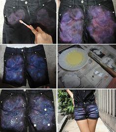 Ideias para estampar um shorts jeans                                                                                                                                                                                 Mais