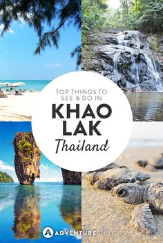 Heading to Khao Lak in Thailand? Here are the top things to see and do there!