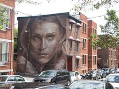 Interesting Faces | RONE Creates A Visual For the Montreal Mural ...
