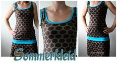 Conny-Stoffdesign: RUMS Rum, Basic Tank Top, Athletic Tank Tops, Kids, Woman, Sewing, Inspiration, Fashion, Sew Dress