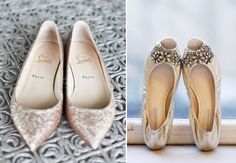 The Shoes on the Right--Form & Function Outdoor Wedding Shoes :: {Wedding Style}