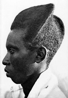 "Africa | ""Young Mututsi"" man. Ruanda-Urundi. ca. 1950. || Vintage postcard; publisher NELS / Germain Van den Eeckhart"