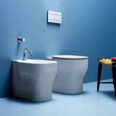 Ceramiche e sanitari vaso, bidet, lavabo serie Glaze - Azzurra Ceramica
