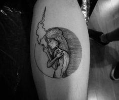 Tatuagem criada por Ricardo Braga de Curitiba.
