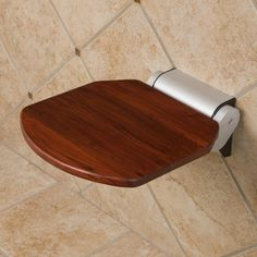 solid teak folding shower seat