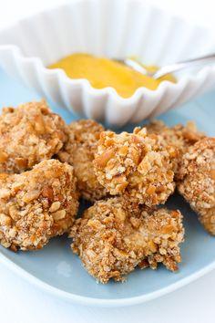 Gluten-Free Pretzel Crusted Chicken {Dairy-Free} | Meaningful Eats