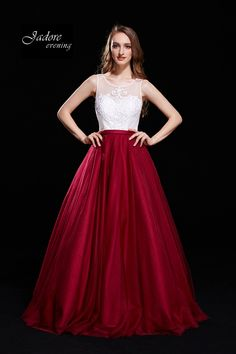 High Neck Tulle Ball Gown J12021 Embroidered Lace, Lace Applique, Tulle Ball Gown, Ball Gowns, Designer Gowns, Fit And Flare, Bodice, Elegant, Formal Dresses