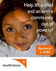 World Vision. Sponsoring a child is rewarding beyond words!