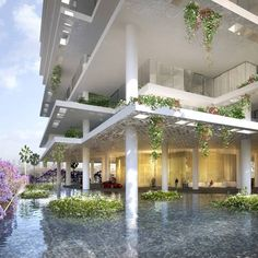 Herzog e De Meuron, 116 meter apartment tower in Beirut, completion due by 2013. The building will comprise five different modular floor slabs used in varying combinations to create a mixture of overhangs and terraces.