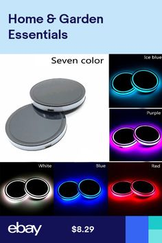 Suitable for Most Car Cup Holder Red FengDing Vehicle Ashtray Car Ashtray Including Removable and Solar Charging Lighter Automotive Ashtray Lip with Blue LED Light