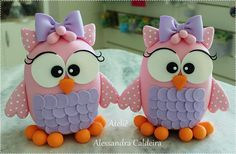 Cold porcelain or Fondant Topper Polymer Clay Owl, Polymer Clay Figures, Polymer Clay Animals, Fondant Figures, Polymer Clay Projects, Polymer Clay Creations, Crea Fimo, Owl Cakes, Ladybug Cakes