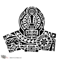 Fofa'a. Important.  This Marquesan style halfsleeve tattoo contains several elements related to the warrior and to excellence: the flower with seven petals on the right represents the star and it symbolizes someone who[...]  http://www.tattootribes.com/index.php?newlang=English&idinfo=6955
