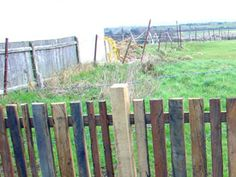 recycled timber picket Picket Fences, Sustainability, Pallet, Recycling, Projects To Try, Gardens, Wood, Inspiration, Biblical Inspiration