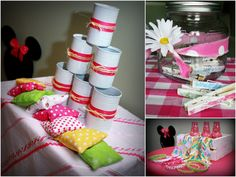 Minnie Mouse Picnic Birthday Party...some really cute ideas!