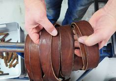 Rough belts, as we like them.