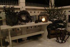 inngangsparti jul lykt benk - Google-søk