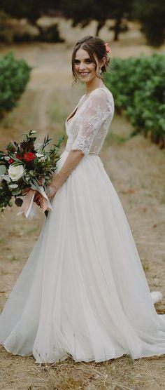 Non Strapless Wedding Dress - 024. So Eventful - Sam Hugh Photography #bridal #bridalgown #weddingdress #weddings #weddingstyle #fashionistas #bride #weddinggown #bridetobe
